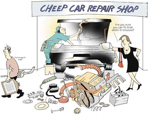 Getting An Estimate For Car Repairs