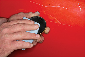 Repairing Car Scratch