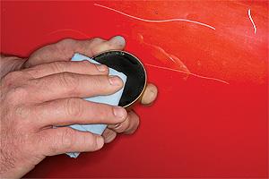 Repairing Car Scratch