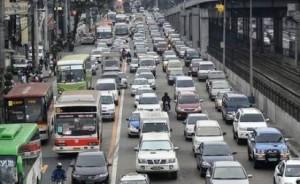 Heavy Traffic in Edsa