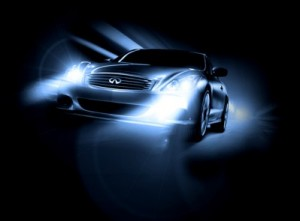 Car with HID Headlamps