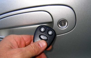 Car with Keyless Entry