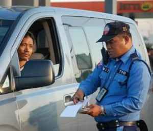 Dealing with Corrupt Traffic Enforcers