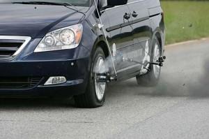 Run on Flat Tire Demonstration