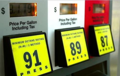 Gasoline Octane Level