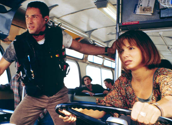 Sandra Bullock in Speed