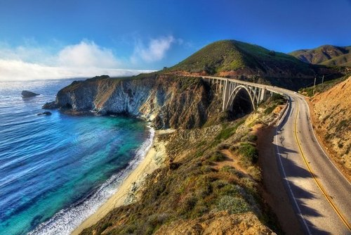 Highway 1 in Big Sur, California
