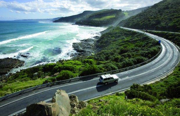 The Great Ocean Road in Torquay, Australia