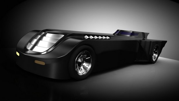 Batmobile from Batman the Animated Series