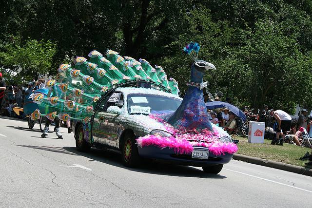 Peacock Car