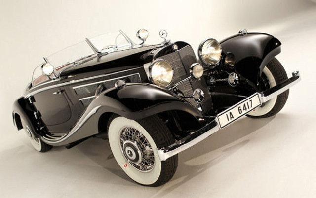 1936 Mercedes Benz 540 Spezial Roadster