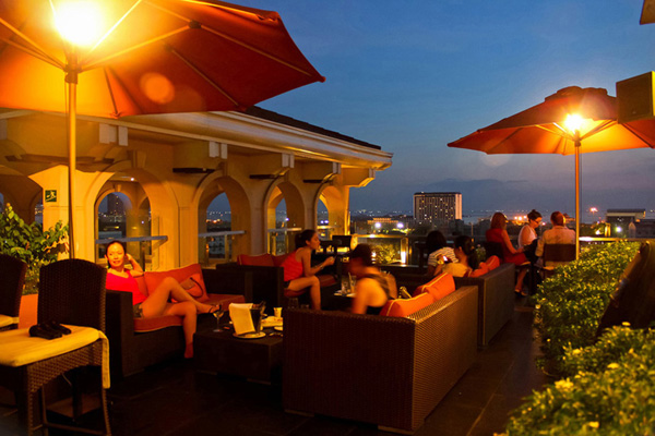 Bay Leaf Intramuros Roof Deck Bar